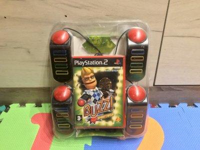 PS2 BUZZ! puldid ja mäng