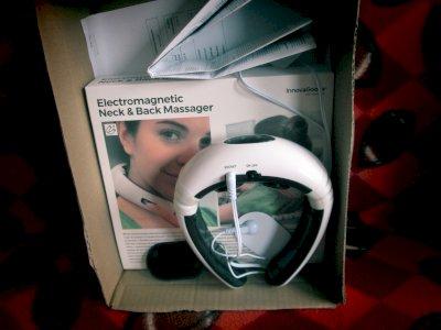 Elektromagneetiline kaela-ja selja masseerija
