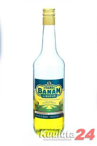 Täitepudel Banan Liqueur