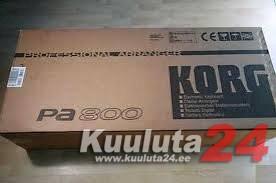 KORG PA600 / KORG PA800 / KORG PA3X